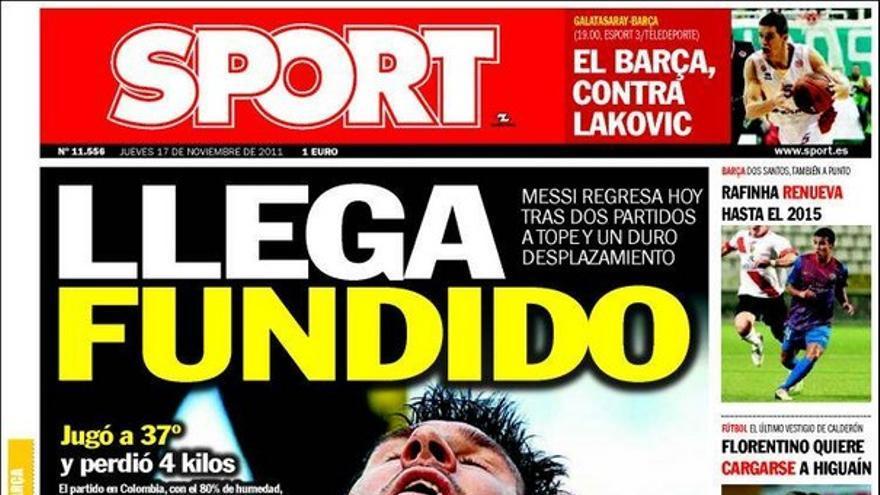 De las portadas del día (17/11/2011) #16