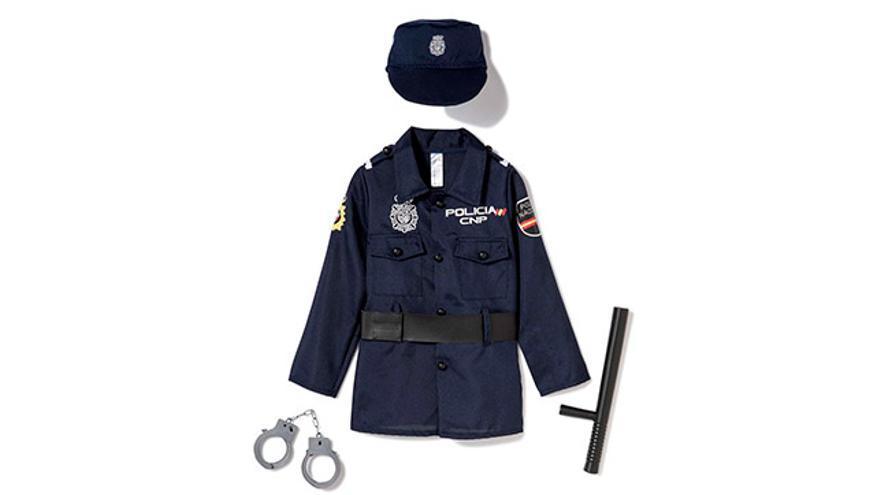 Disfraz de policía.