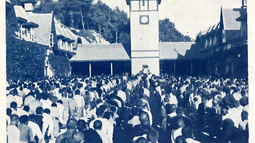 Campo de concentración franquista de La Magdalena, en Santander, en el año 1938. | REVISTA NUEVA ESPAÑA