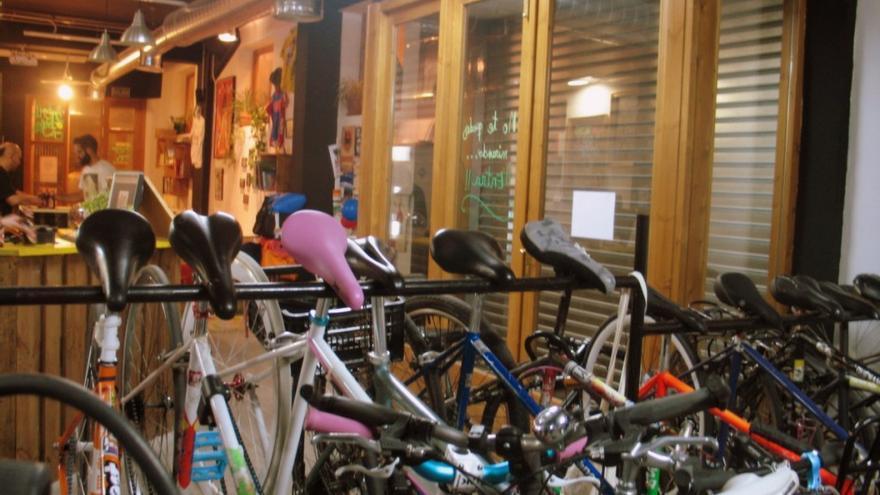 Uno de los espacios de La Ciclería.