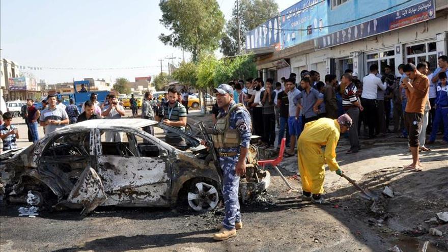 Muere un jefe de brigada y dos soldados kurdos por el estallido de una bomba en Kirkuk