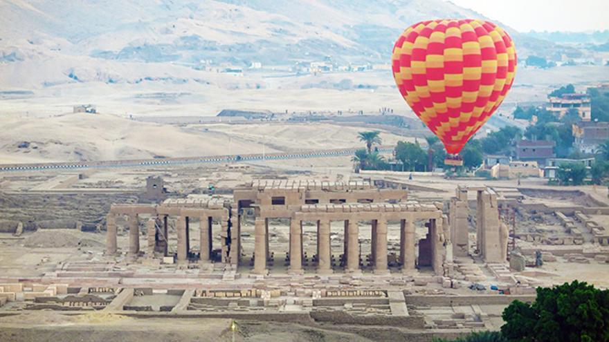 Viajes en globo, Luxor, Egipto