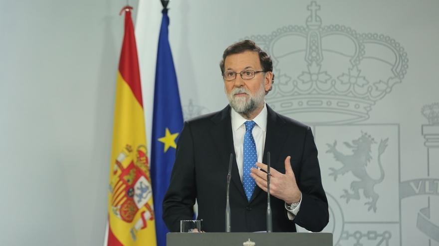 """Rajoy rechaza motivos políticos en la salida de Moragas y asegura que """"hace tiempo quería dar un giro a su vida"""""""