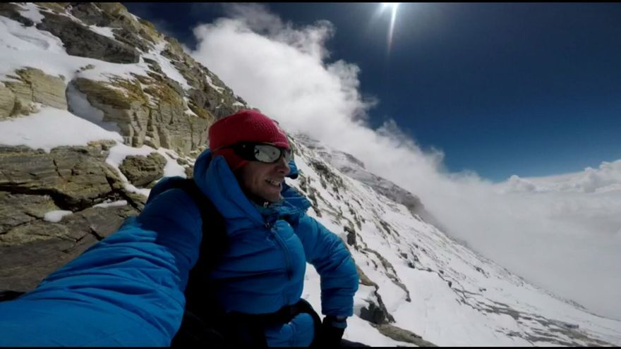 Kilian Jornet en el Everest esta primavera.