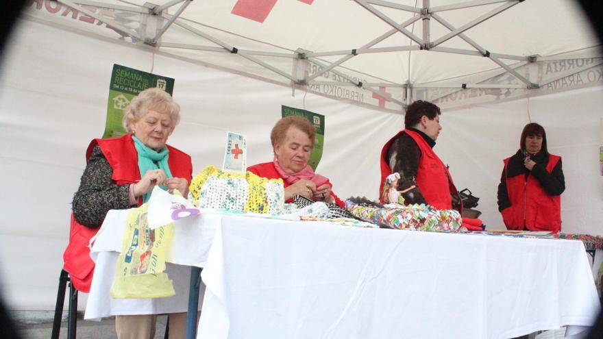 La Cruz Roja presenta en Bilbao una nueva campaña de concienciación del reciclaje en el Día mundial del Reciclaje
