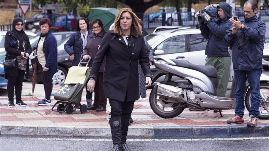 """Susana Díaz confía en que la Conferencia de Presidentes no sea """"un paripé"""""""