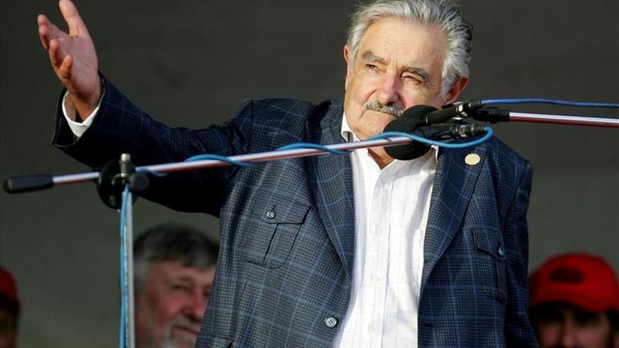"""Mujica dará mañana su """"abrazo simbólico"""" a Uruguay en su adiós presidencial"""