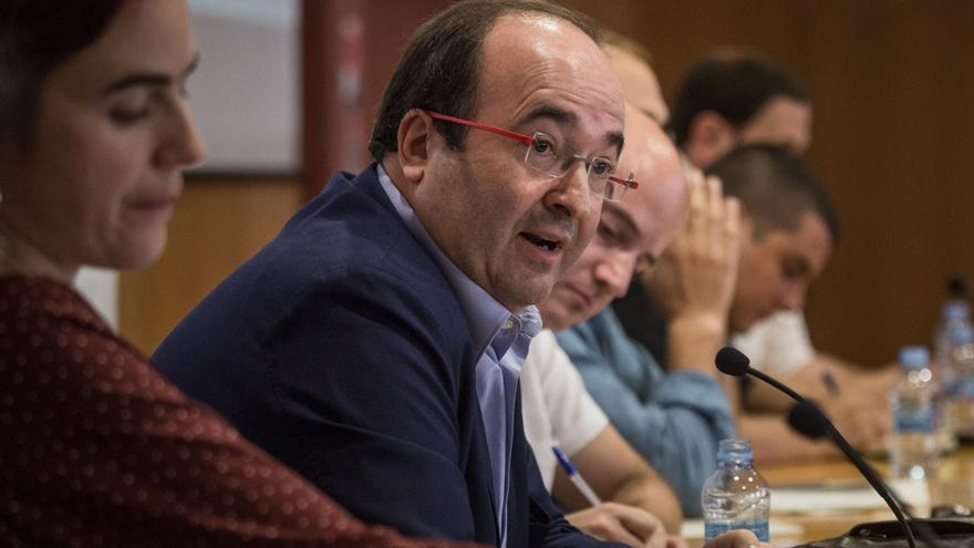 Miquel Iceta (PSC) a la UPEC / ENRIC CATALÀ