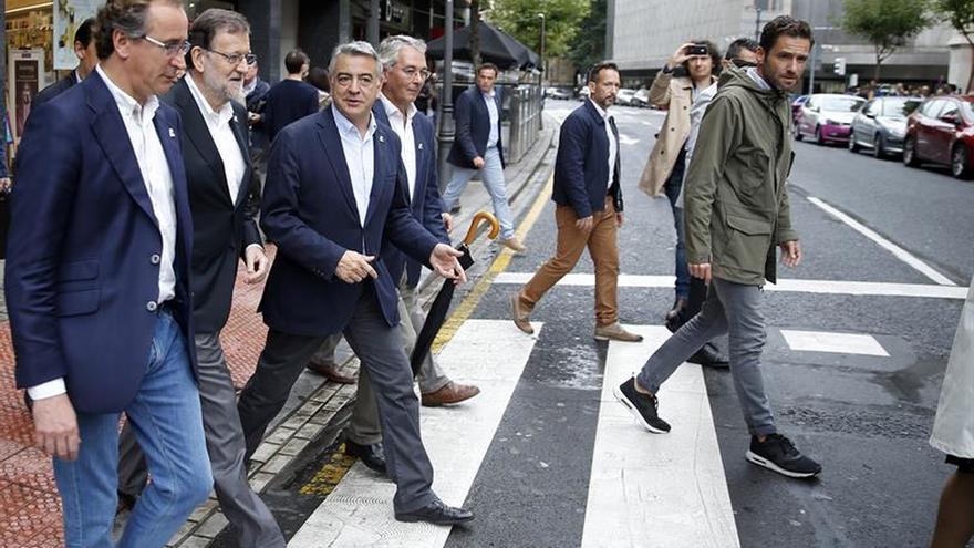 Rajoy: La situación de bloqueo de Sánchez es antipatriótica