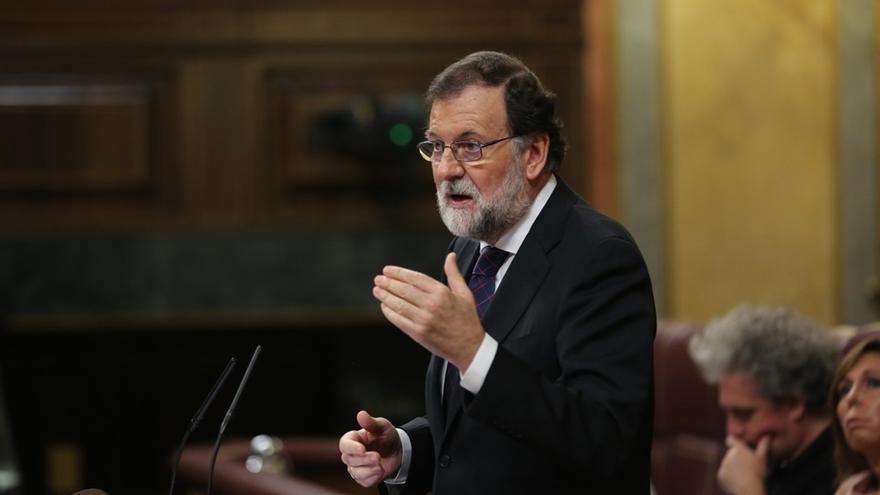 Rajoy comparece hoy en el Pleno del Congreso para hablar de la crisis abierta en Cataluña