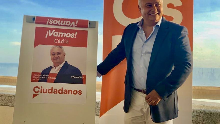 Domingo Villero fue candidato a la alcaldía de Cádiz.