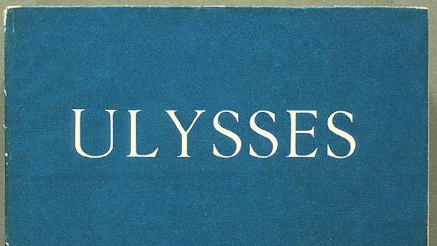 Portada del Ulises, de Joyce