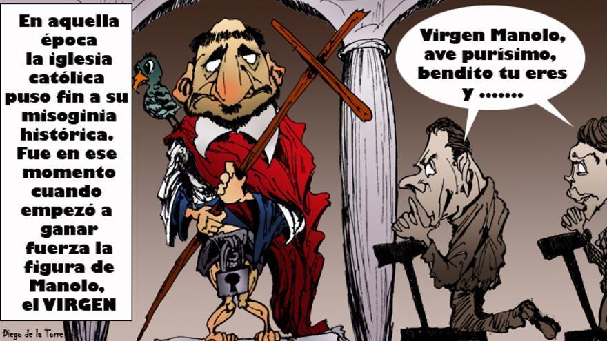 El virgen Manolo