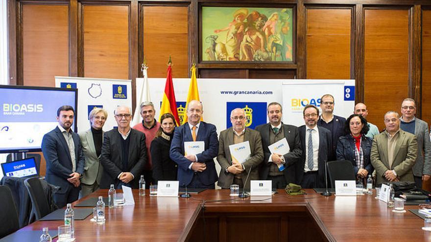Presentación de la plataforma Bioasis Gran Canaria