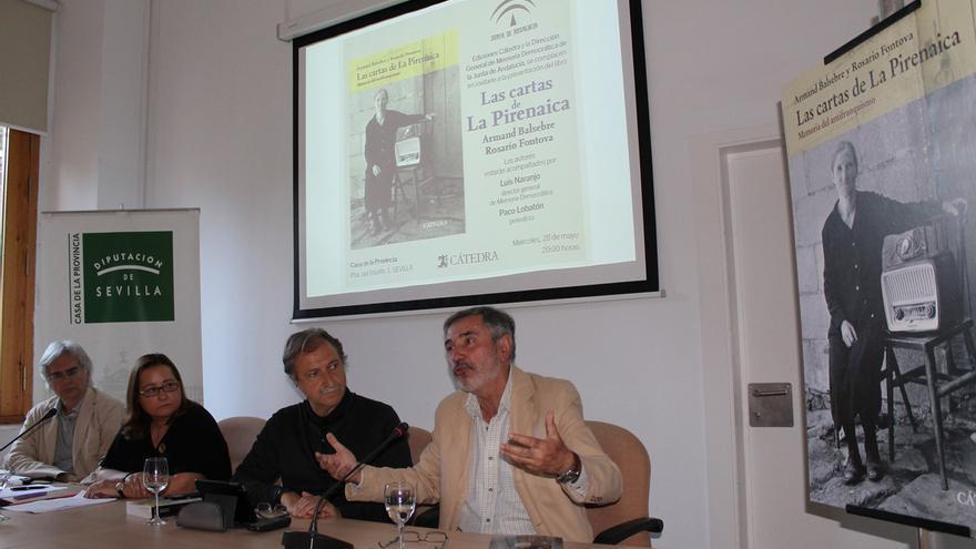 Presentación del libro 'Las cartas de La Pirenaica. Memoria del antifranquismo'.