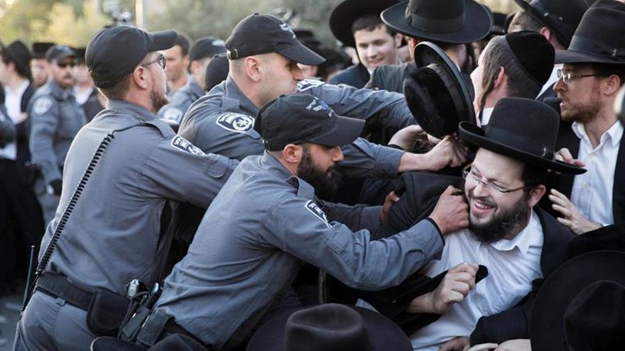 """Los ultraortodoxos lanzan el """"Día de la ira"""" contra el reclutamiento militar israelí"""