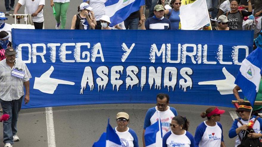 Inician tres días continuos de protestas públicas contra Ortega en Nicaragua