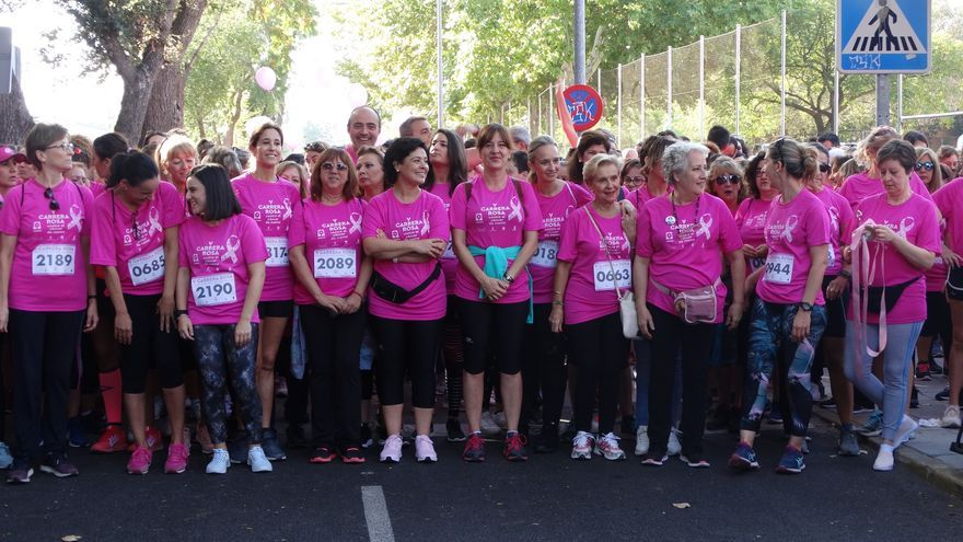 V Carrera Rosa por la prevención del cáncer de mama
