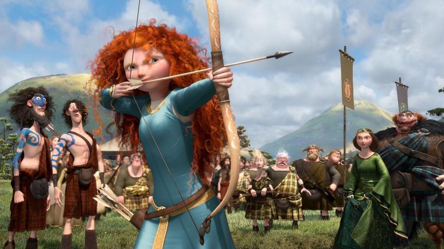 Merida, de la película Brave