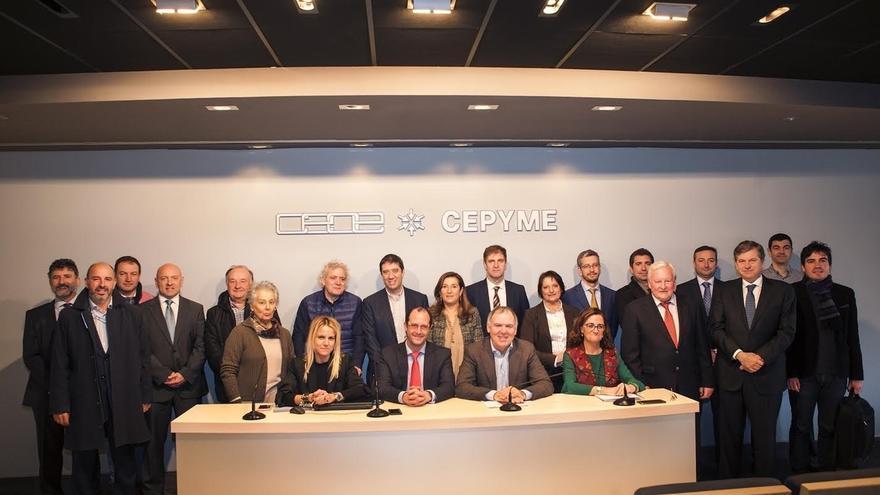 CEOE-CEPYME aprueba por unanimidad un presupuesto para 2017 en positivo por primera vez en los últimos siete años