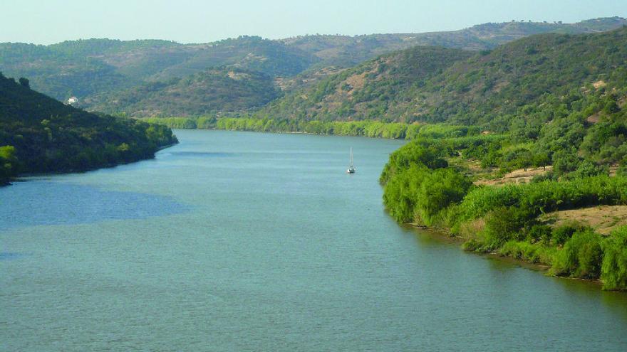 Vista del río Guadiana, foto por MAGRAMA