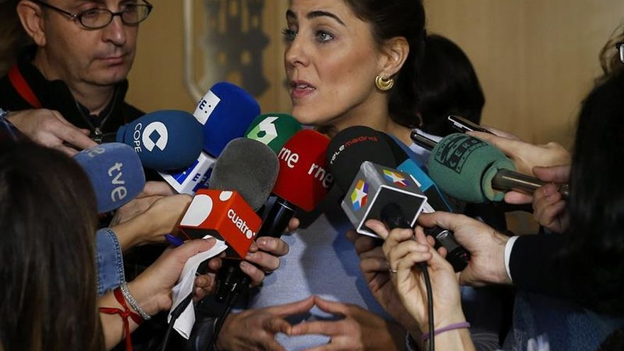 """La nueva portavoz de Podemos estará """"por encima de disputas entre familias"""""""