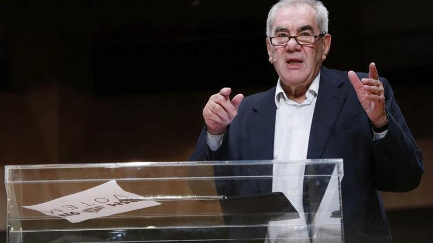 Ernest Maragall avisa al PDC de que ya está inscrito en el Partit Català d'Europa
