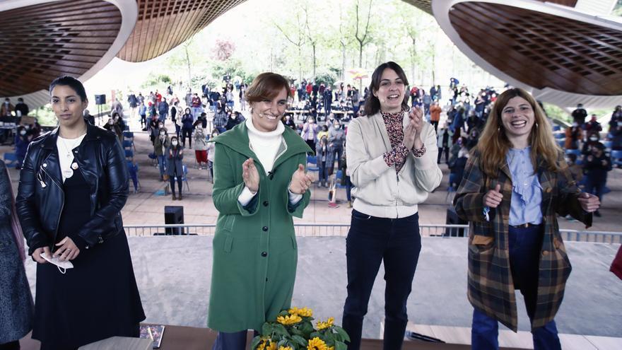Imagen del acto de Más Madrid 'Mujeres con Mónica'.