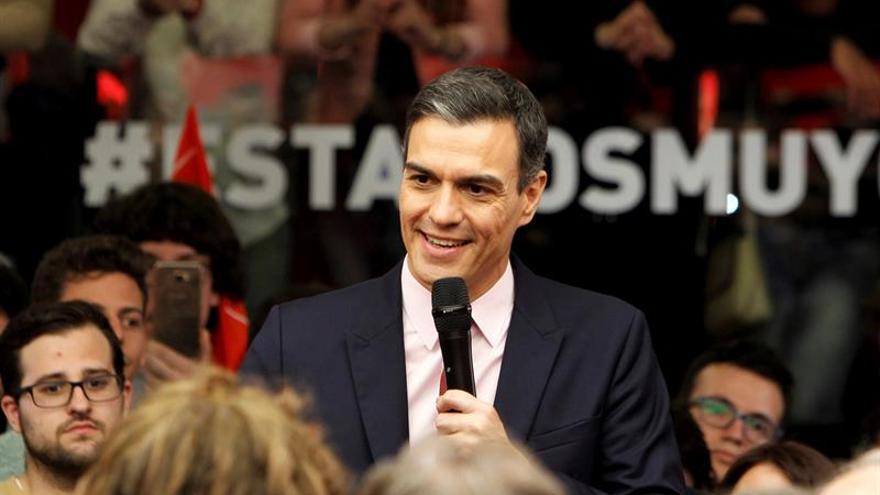"""Sánchez se da por ganador del debate y estrena lema: """"Estamos muy cerca"""""""