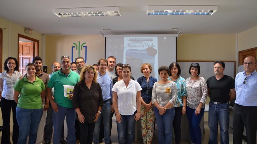En la imagen, los participantes en el taller de gestión de la calidad turística para alojamientos rurales.