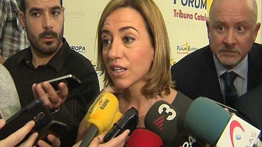 Chacón dice que si hay que bombardear Siria deberían hacerlo países árabes y ve lógico que España ayude en el Sahel