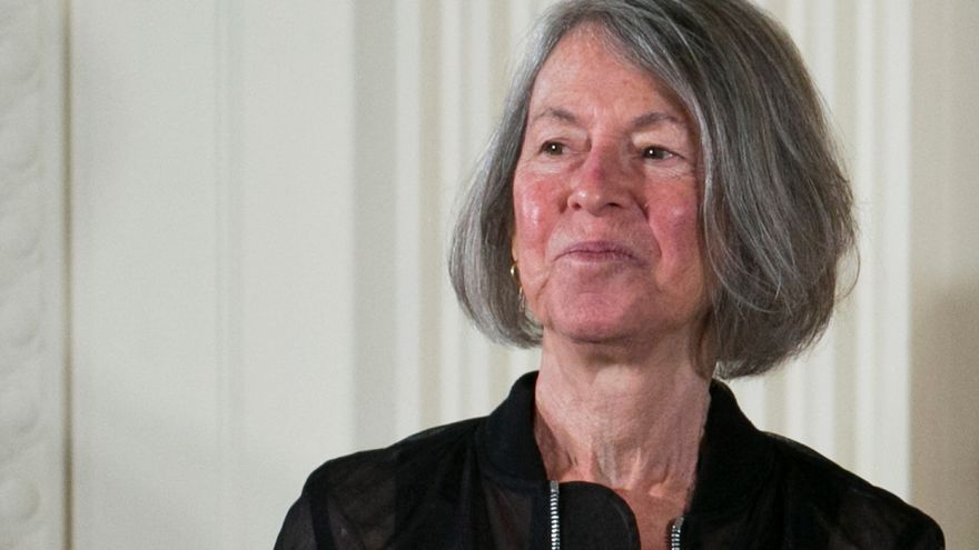 La poeta Louise Glück. EFE/EPA/SHAWN THEW