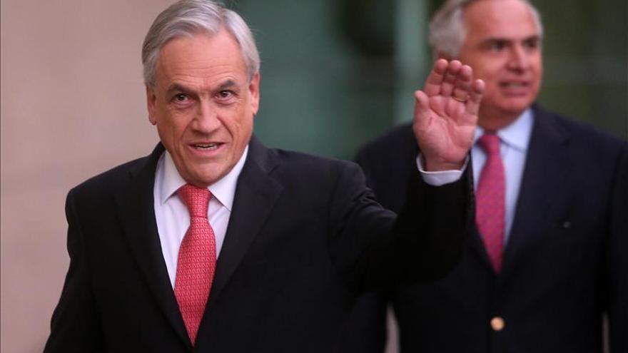 Sebastián Piñera se reúne con el presidente dominicano en visita al país