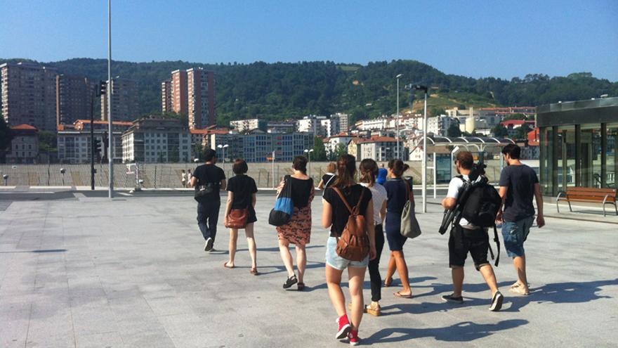 "Ciudad Imaginada"", taller del colectivo lacasinegra en Tabakalera Donostia / Archivo Tabakalera"