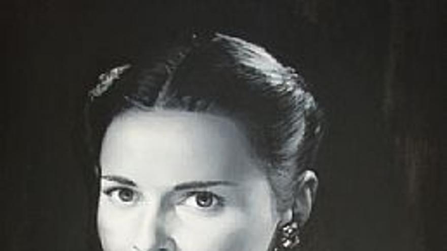 La artista Marie Popp, esposa de Walter Popp
