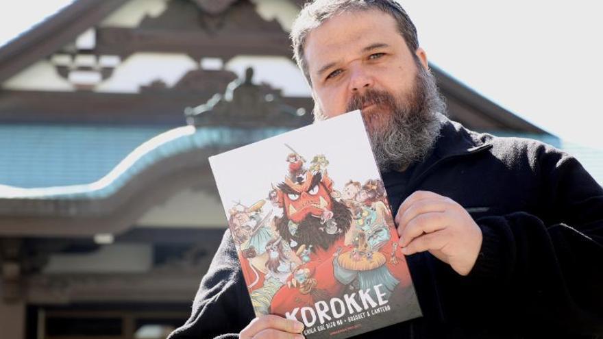 """El guionista de cómic Josep Busquet se muestra """"ilusionado"""" por premio nipón"""