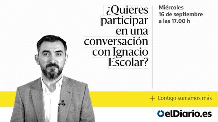 Una conversación entre socios y socias con Ignacio Escolar