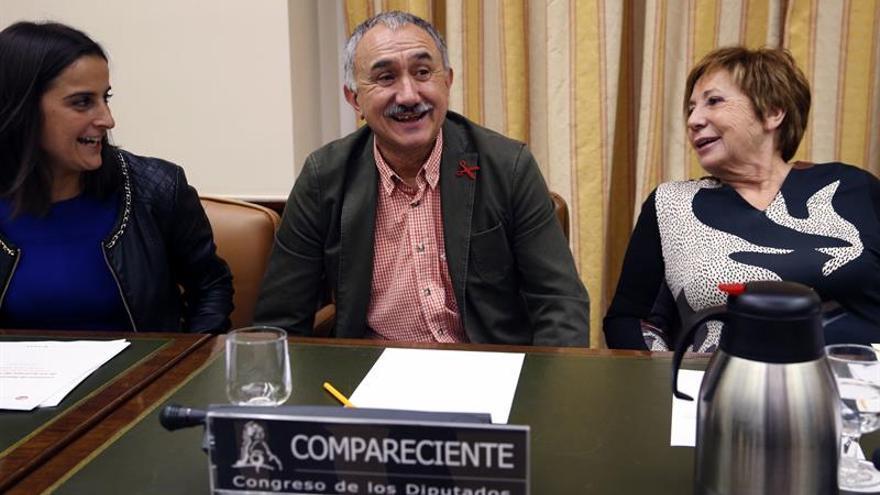 Álvarez (UGT) no es optimista sobre un pacto salarial con la patronal