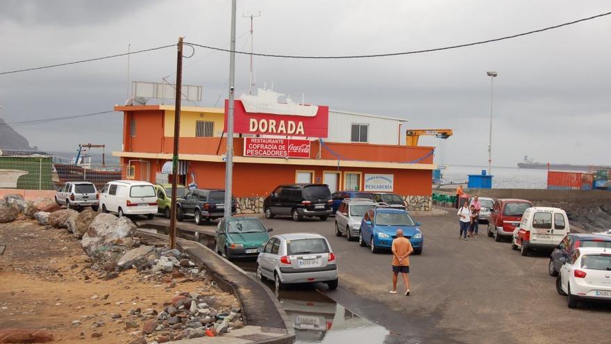 Restaurante de la Cofradía de Pescadores de San Andrés, en una imagen de archivo