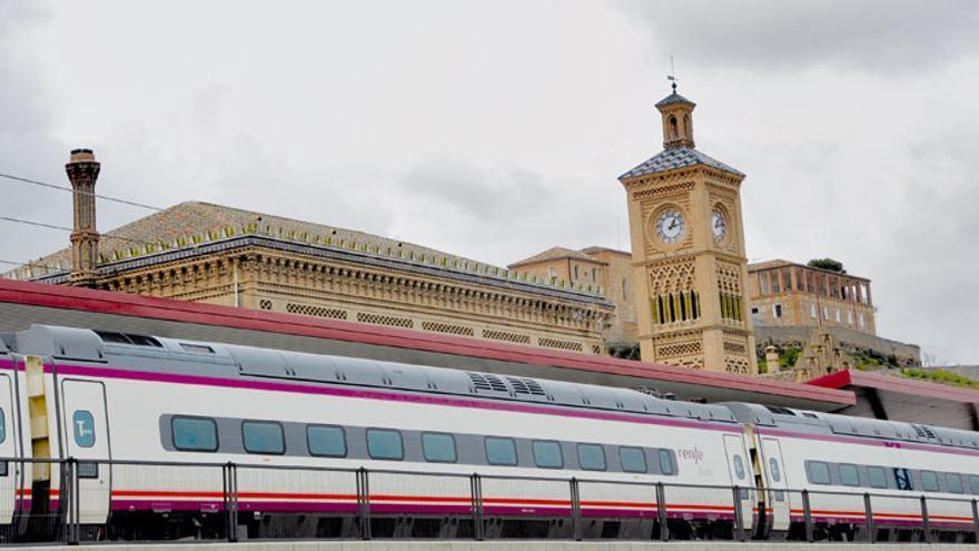 Estación del AVE en Toledo. FOTO: Ayuntamiento de Toledo