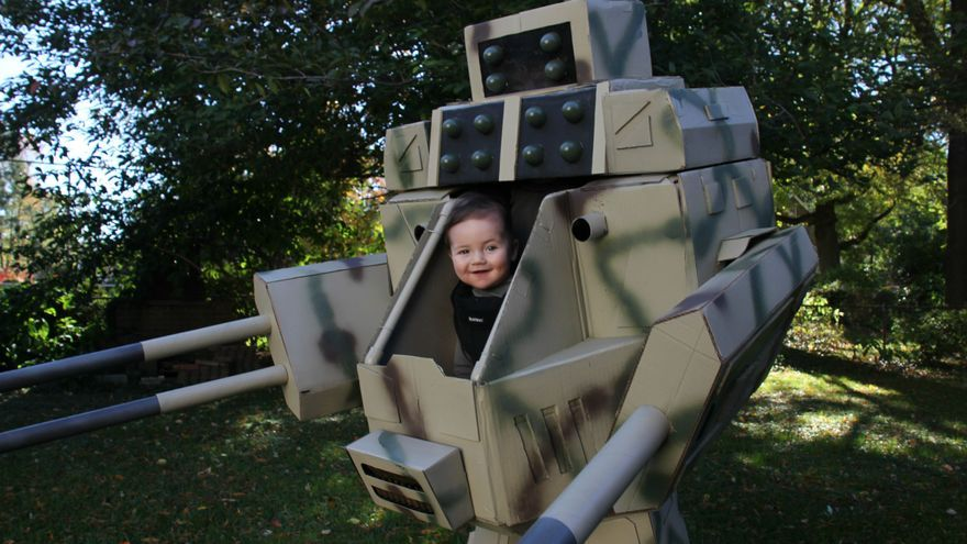 Battle Mech con tu hijo de 1 año