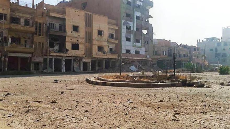 Cuatro periodistas rusos resultan heridos en la ciudad siria de Deir al Zur