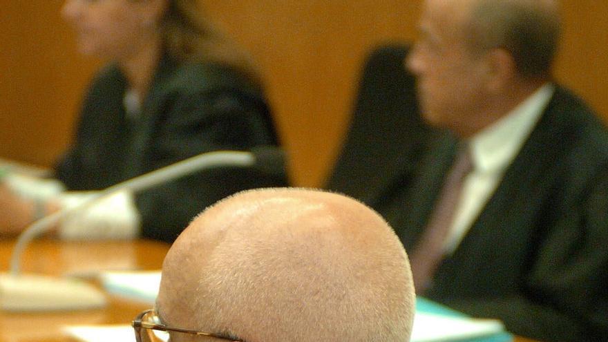 El financiero Eduardo Pascual Arxé, durante uno de los procedimientos en los que está implicado. / Efe