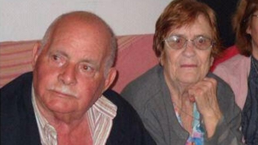 Antonio Quesada y Ana María Artiles.