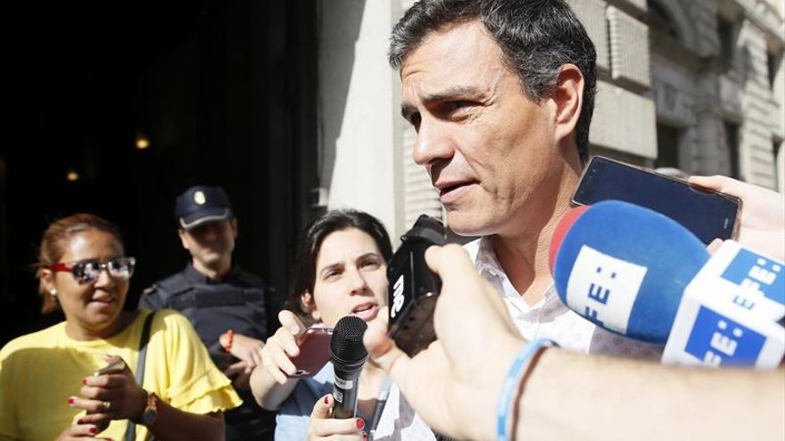 Sánchez sobre la moción:España y la izquierda necesitan más que nunca al PSOE