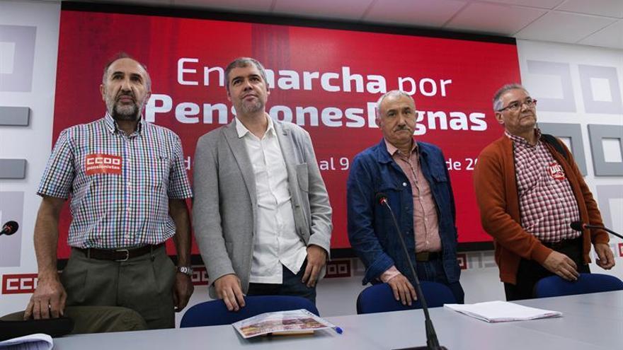 Los jubilados marcharán hasta Madrid por unas pensiones públicas viables