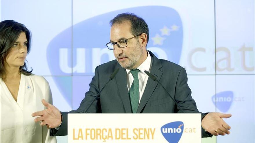 """Unió pide al Gobierno """"no menospreciar"""" la victoria independentista"""
