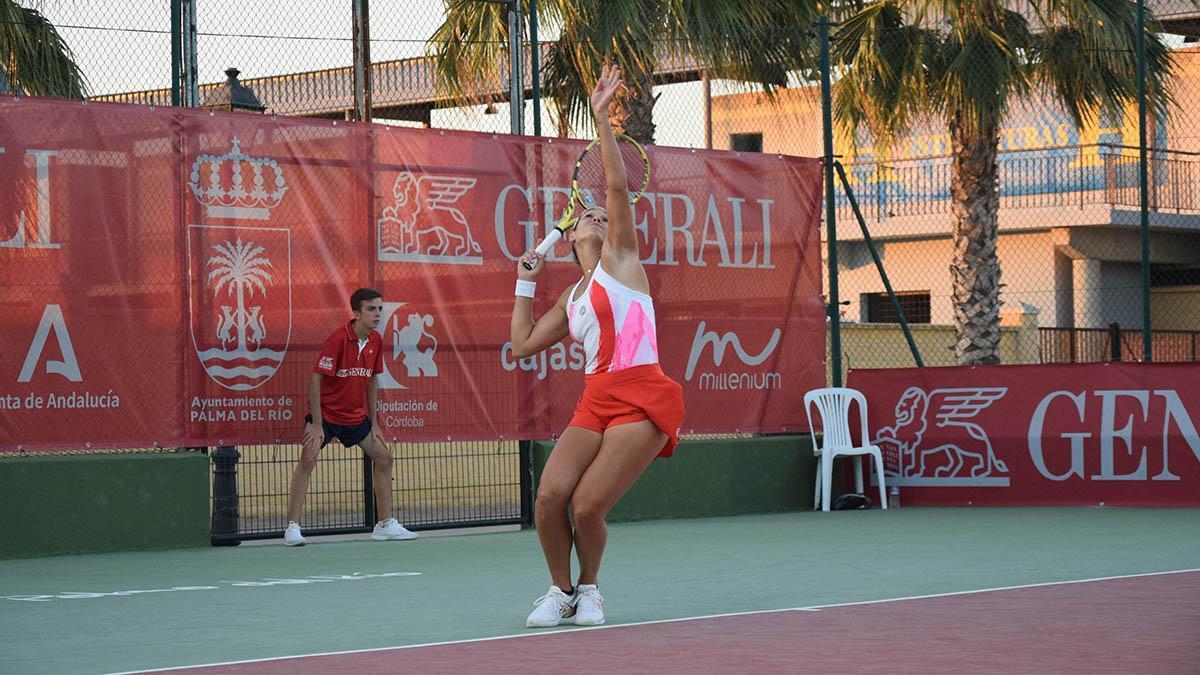 Lance de un partido del Open de Palma del Río