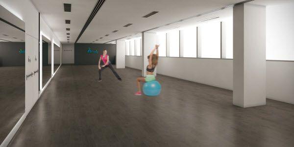 Sala de clases dirigidas del futuro CDM de Barceló | Imagen: Forus