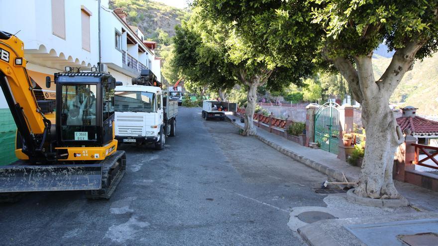 Zona acordonada desde el 28 de mayo para retirar los árboles. (Alejandro Ramos).